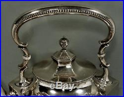 Whiting Sterling Silver Tea Kettle & Stand TEA SET c1910