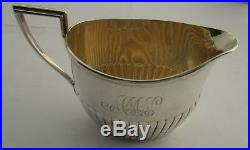 Whiting Three (3) Piece Sterling Silver Batchlor Tea Set Circa 1890's